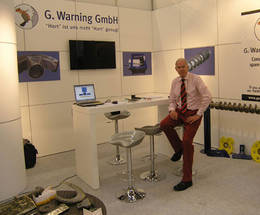 Messestand Gerhard Warning GmbH